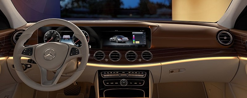 Mercedes benz e class 2018 interior