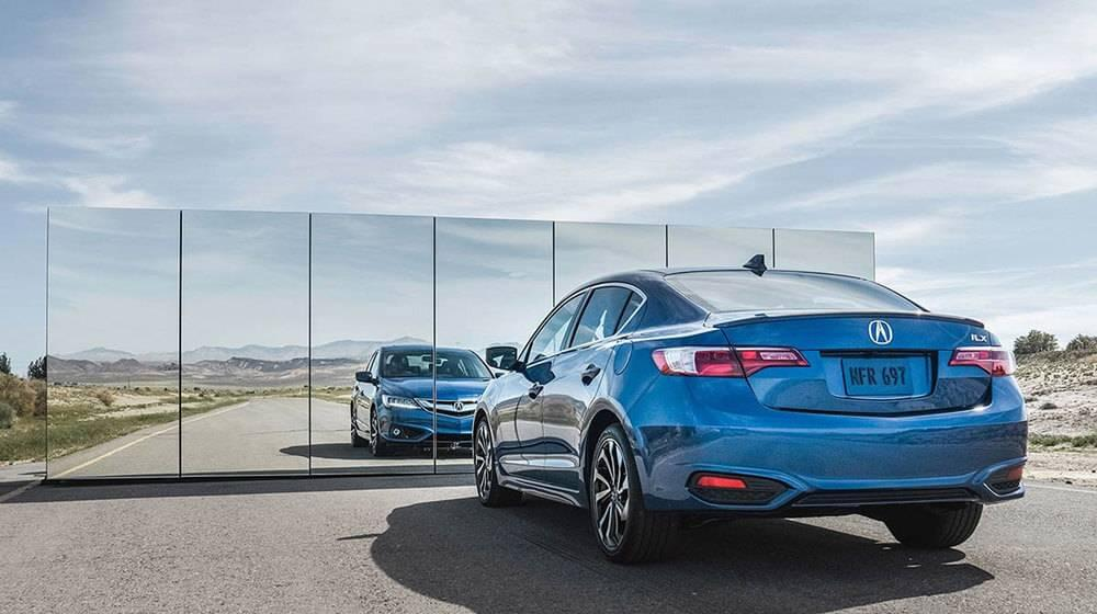 2017 Acura ILX blue exterior model rearview