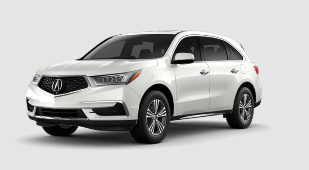 New 2020 Acura MDX AWD