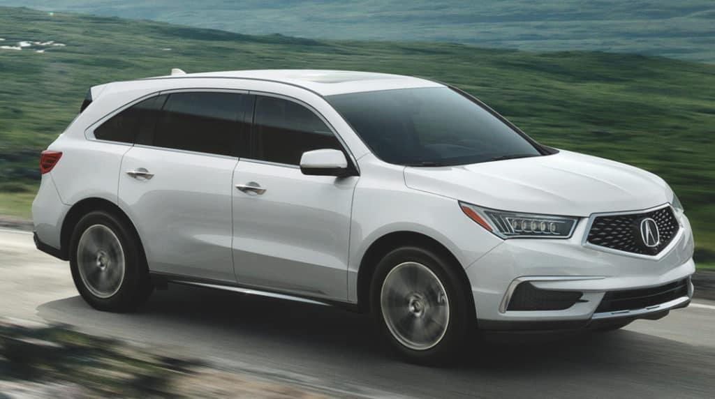 New 2020 Acura MDX AWD