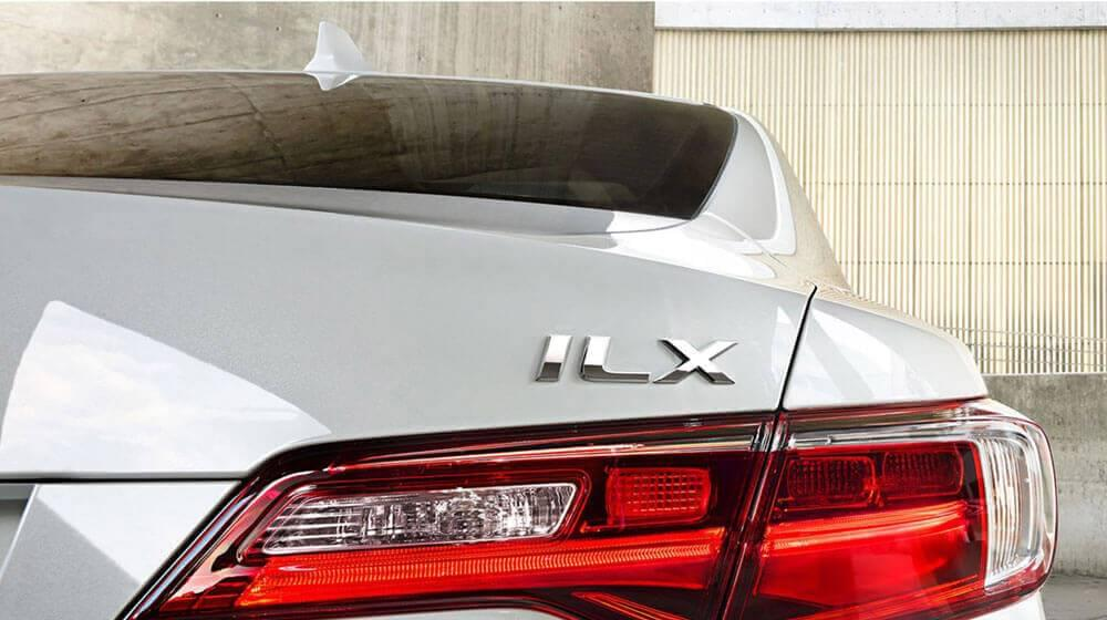2017 Acura ILX trunk exterior up close