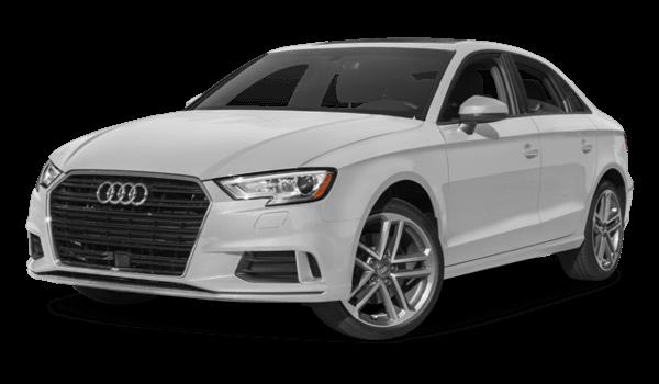 2017 Audi A3 light exterior model