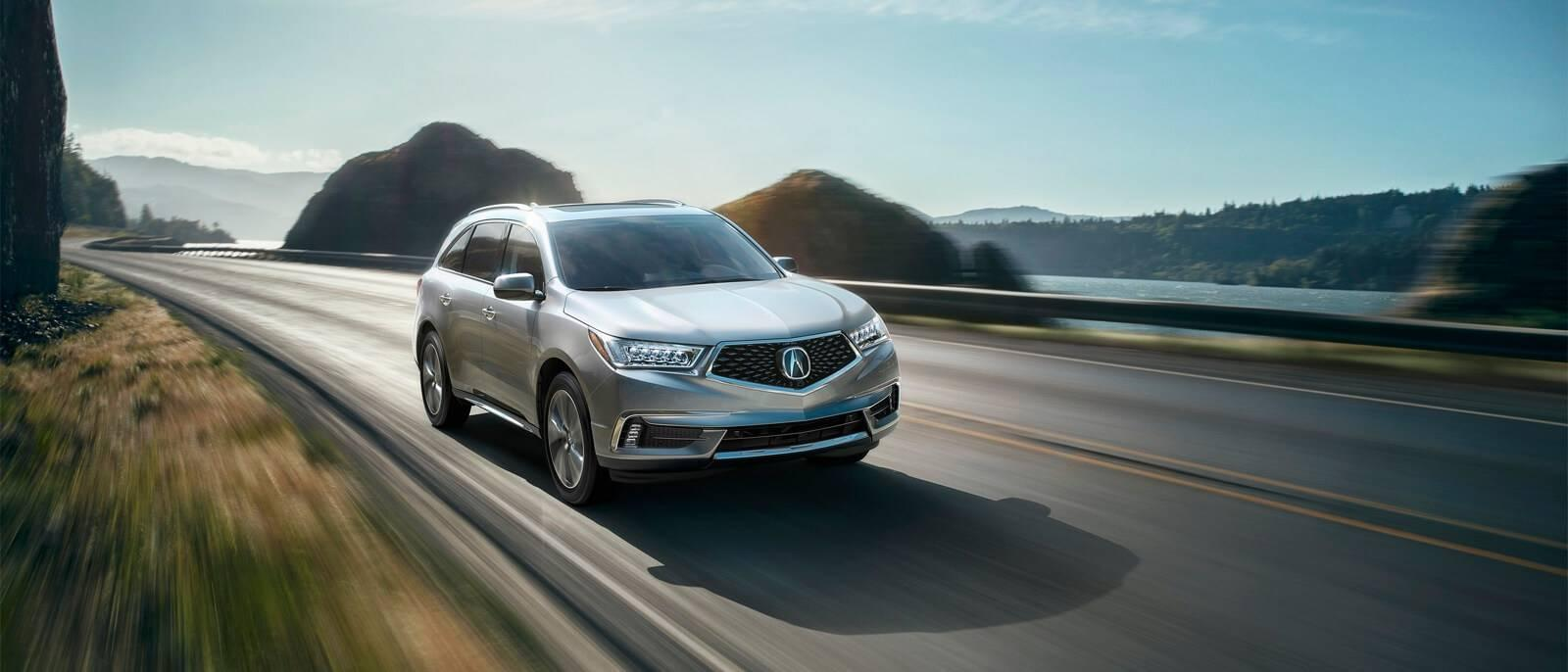 2017 Acura MDX light exterior model
