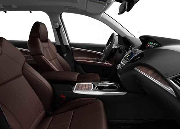 2018 Acura MDX Heated and Ventilated Seats