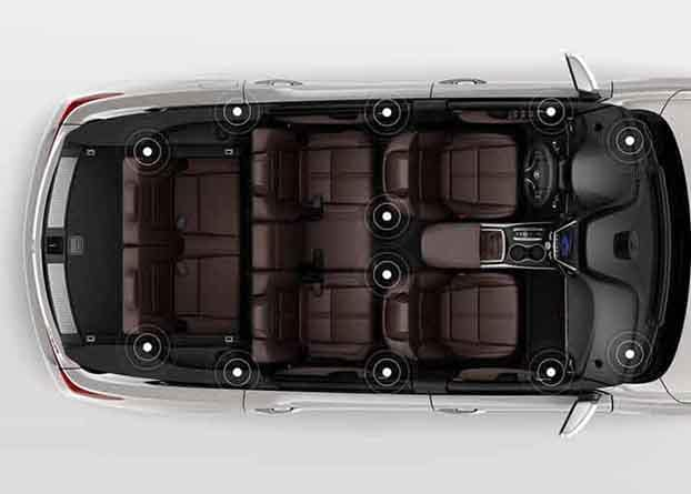 2018 Acura MDX Rear Surround System