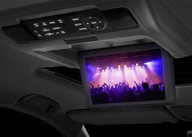 2018 Acura MDX Single Screen Rear Entertainment System