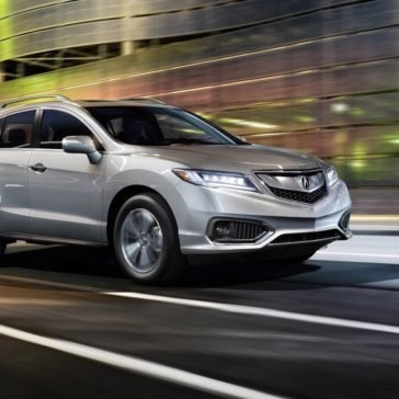 Acura RDX on the road