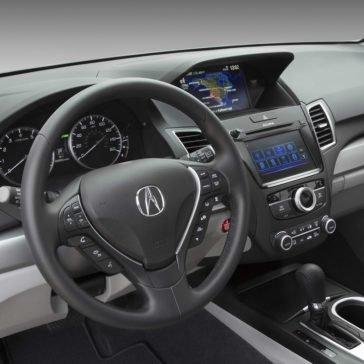 Acura RDX front interior