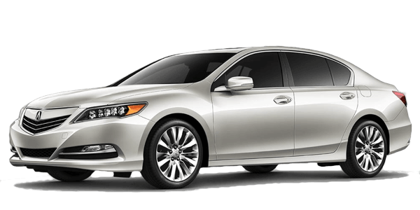 2017 Acura RLX white background