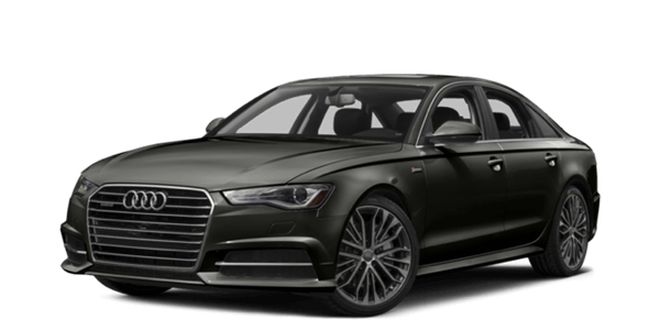 2017 Audi A6 white background