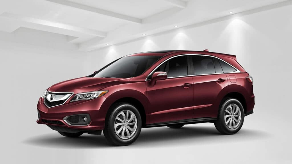 2018 Acura RDX red exterior model