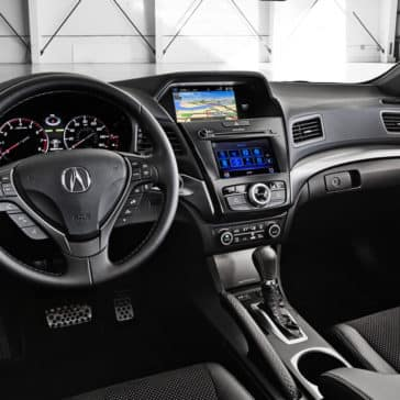 2018 Acura ILX interior dashboard