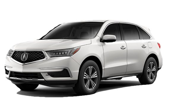2018 Acura MDX white background