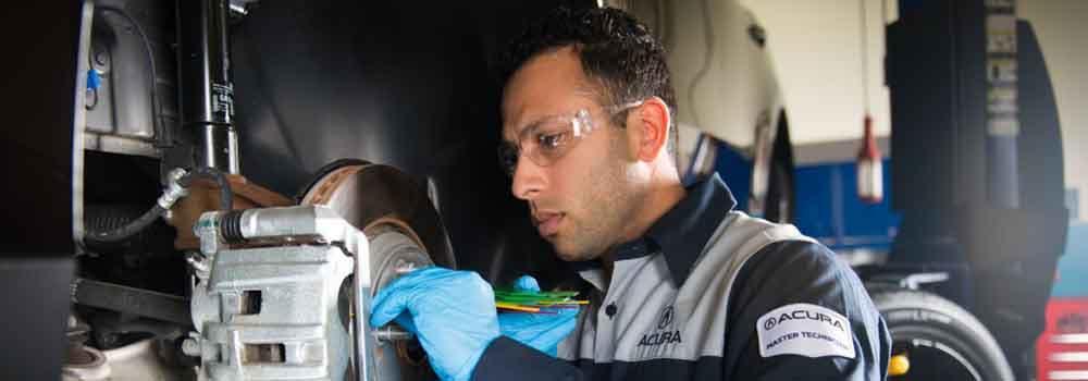 Acura Brake Inspection