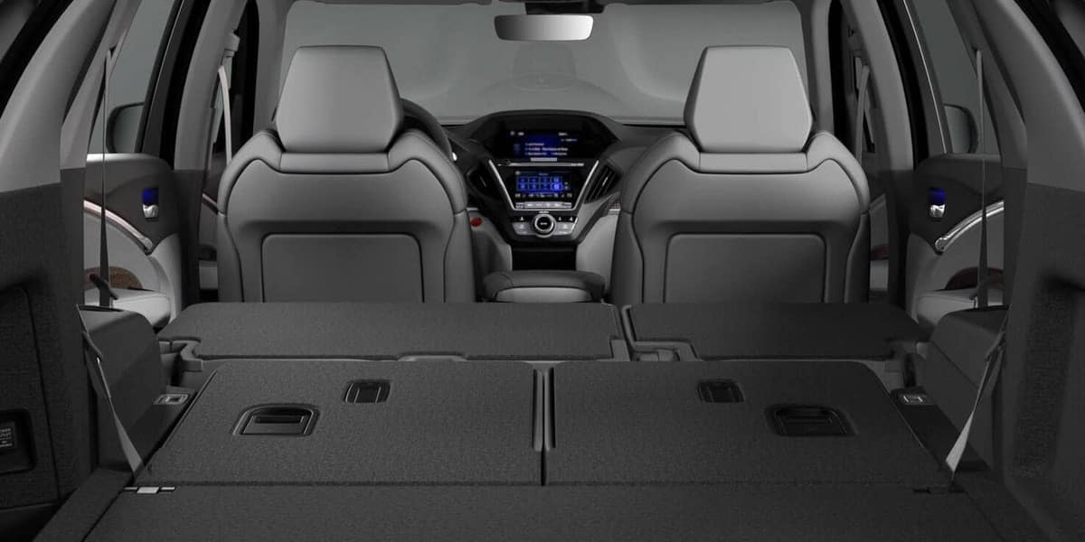 Acura MDX Rear Cargo Space