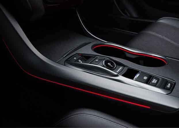 2018 Acura TLX Seats and Lighting