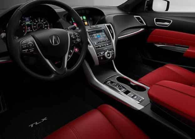 2018 Acura TLX Sport Interior