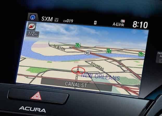 2018 Acura RDX Navigation System