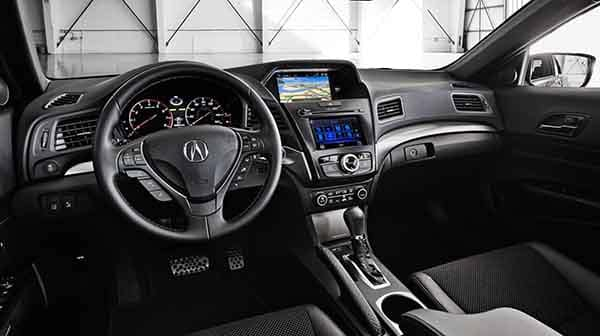 2018 Acura ILX Dashboard Technology