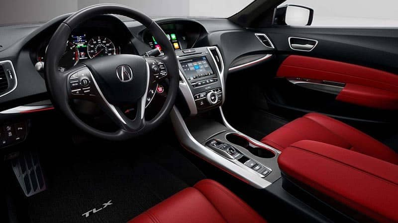 2018 Acura TLX A-SPEC Red Interior Package
