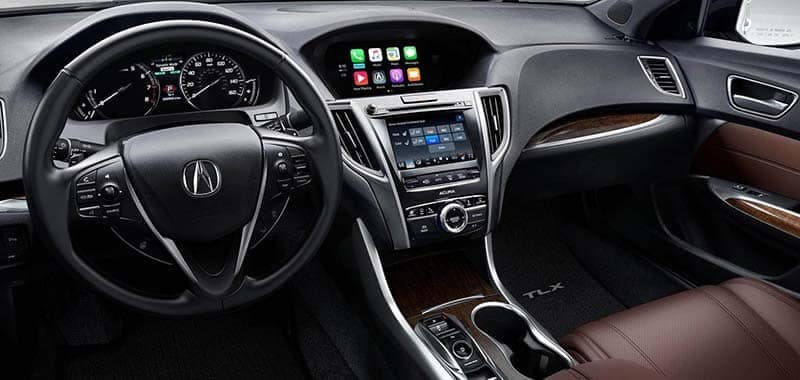 2019 Acura TLX Interior Front Seating and Dashboard