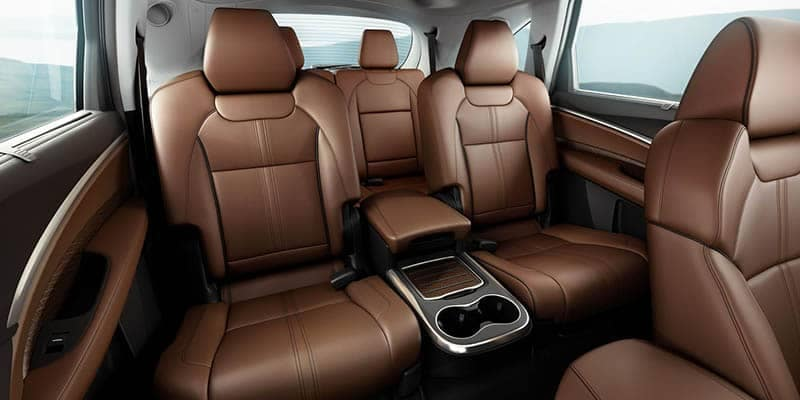 2018 Acura MDX Interior Seating