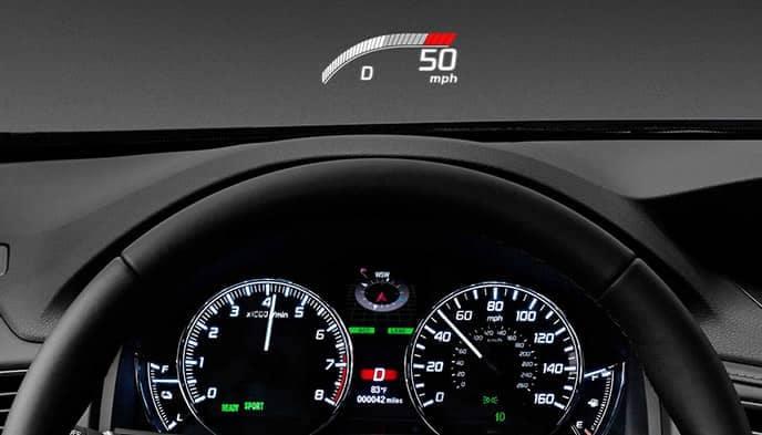 Acura RLX Heads Up Display