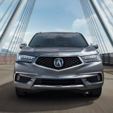 2019 Acura MDX Front End View