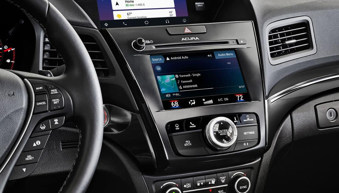 2019 Acura ILX interior features