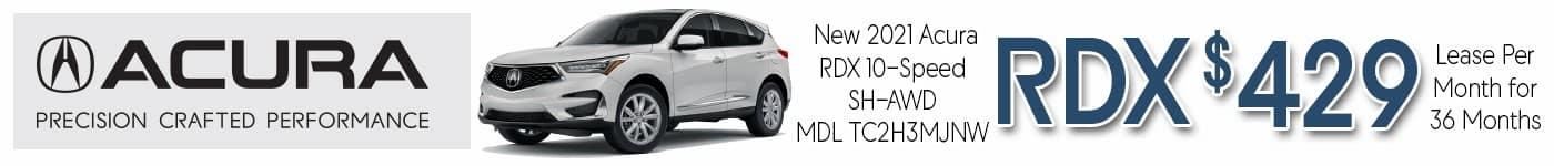 Acura RDX Oct 2021 INV