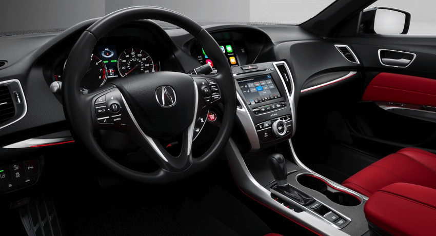 2019 Acura TLX interior dashboard