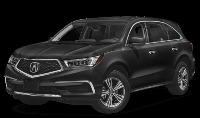 2019 Acura MDX black SUV