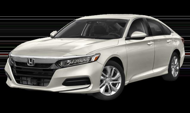 2019 honda accord white sedan