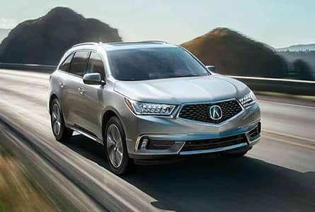 Acura MDX model line-up