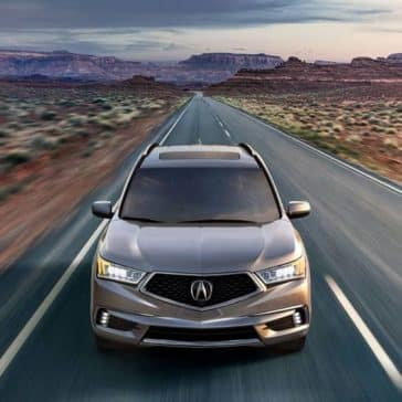 2020 Acura MDX In The Desert
