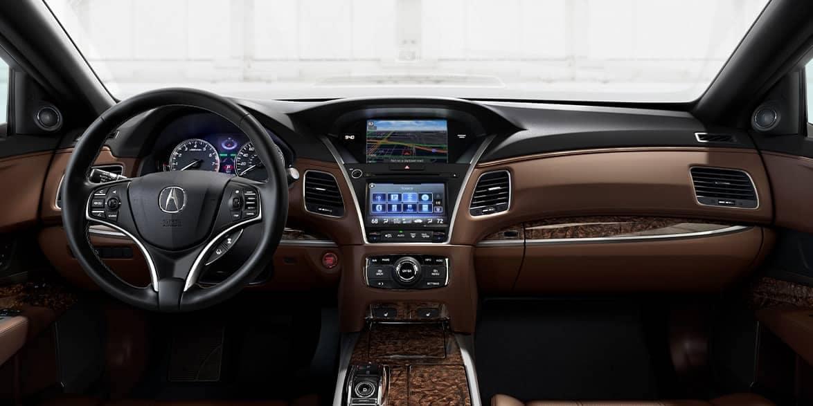 2020 Acura RLX Dash