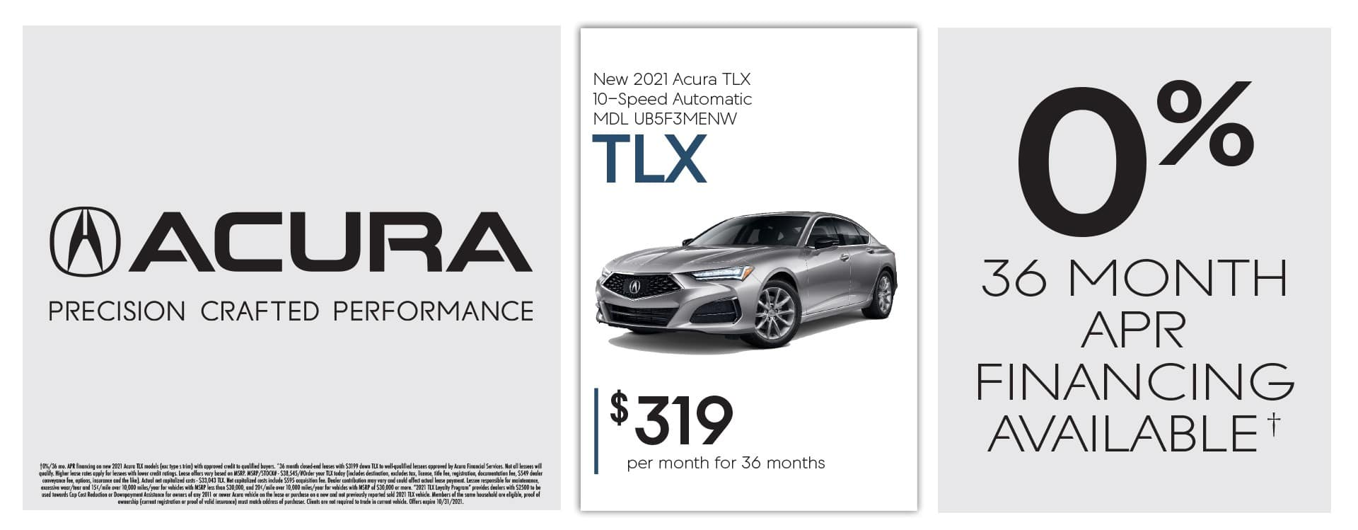 Acura Oct 2021 Home Banner