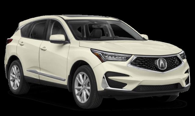 2020 Acura RDX white comparison image