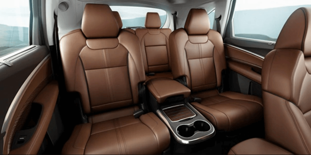 2020 Acuda MDX interior seating