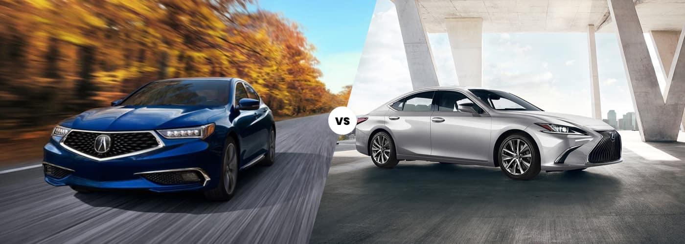 2020 Acura TLX vs. 2020 Lexus ES 350