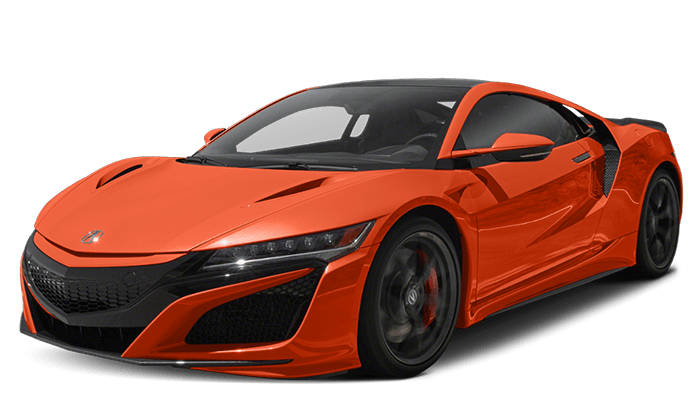 2019 Acura NSX Orange