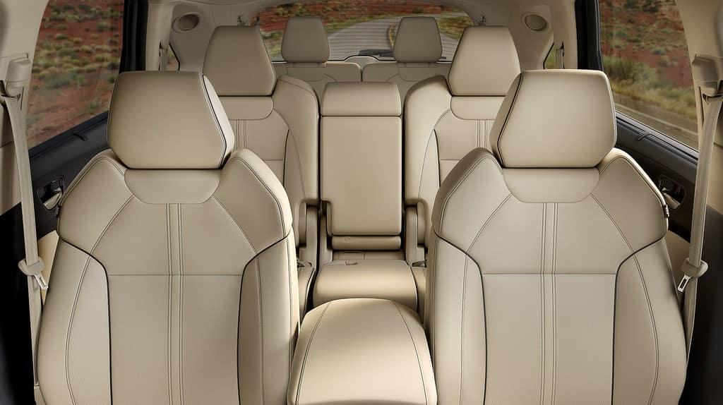 2022 acura mdx interior seating