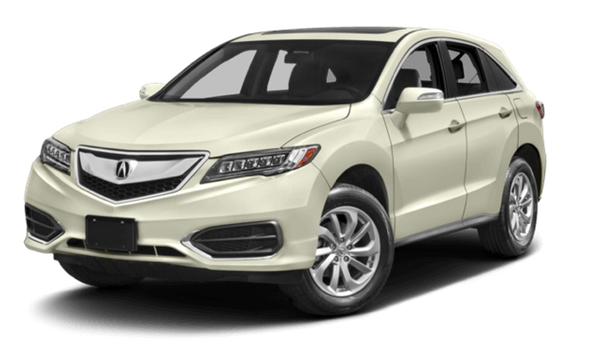 2017 Acura RDX light exterior model