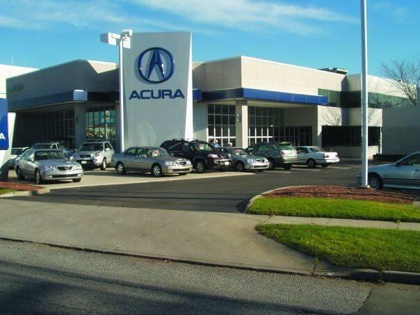 Acura of Milford Dealership Exterior