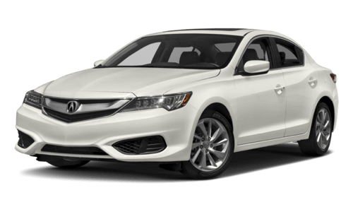 2017 Acura ILX white background