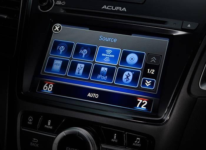 2017 Acura RDX Touchscreen