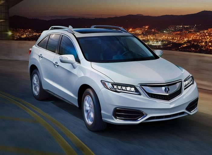 2017 Acura RDX Driving