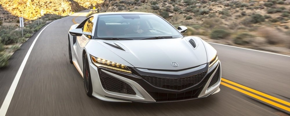 Acura NSX exterior front view