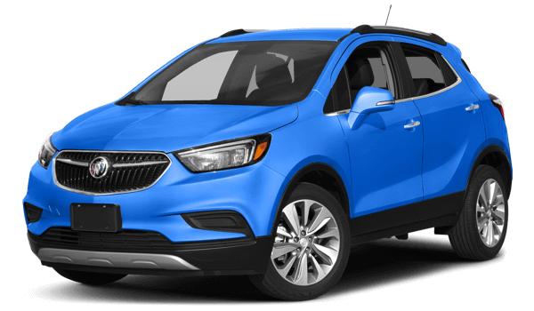 2017 Buick Encore white background