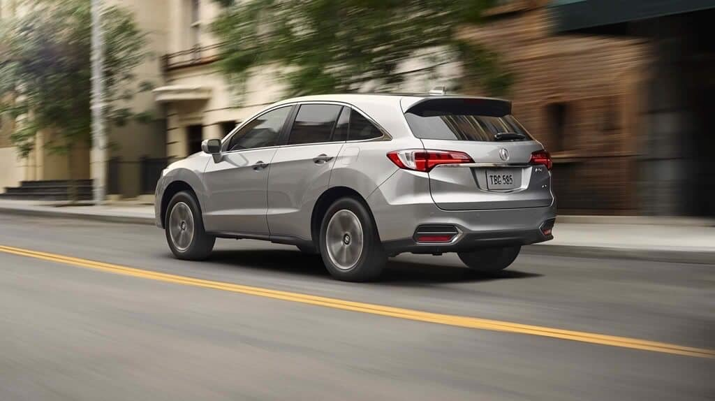 2018 Acura RDX rear view